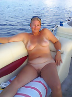 Would you like to take a boat trip with these women? - Chubby Naturists